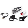 Trelock LS 560 I-GO CONTROL+LS 720 REEGO - Juego de luces para bicicleta - blanco